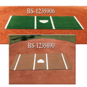 Home Plate Mat Green 6' x 12'