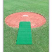 Turf Pitcher's Mat - Green 6' x 12'