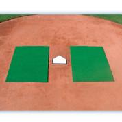 Turf Batter's Mats-Green 3' x 7'