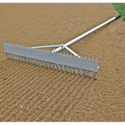 Double Play Rake - 24""