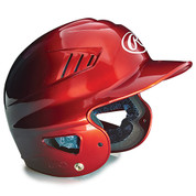 Youth Two-Tone Batting Helmet - Scarlet