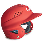 Junior Matte Batting Helmet - Scarlet