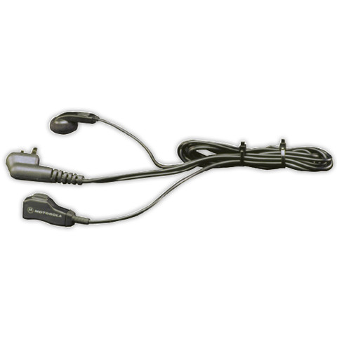 Earbud with PTT Mic