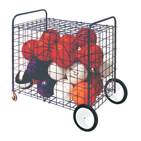 All Terrain Lockable Ball Storage Locker for Up To 24 Basketballs