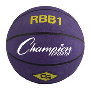 Champion Sports Official Men's Size Pro Rubber Basketball - Purple