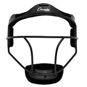 Black Adult Softball Fielder's Face Mask