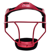 Red Youth Softball Fielder's Face Mask