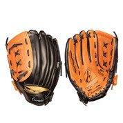 """Baseball and Softball Leather and Vinyl Fielder's Glove  - Full Right - 11"""""""