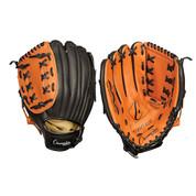 "Baseball and Softball Leather Fielder's Glove  - Full Right - 11"""