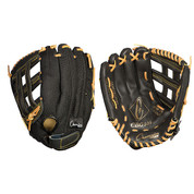"""Baseball and Softball Leather and Nylon Glove  - Full Right - 11"""""""