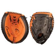"Adult Leather Catcher's Mitt - 33.5"" - Black/Brown"