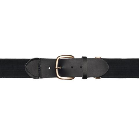 "Black Adjustable Adult Baseball Uniform Belt - Size 22""- 46"""