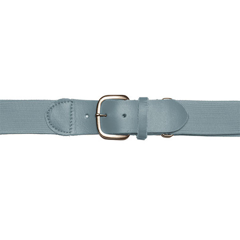 "Gray Adjustable Adult Baseball Uniform Belt - Size 22""- 46"""