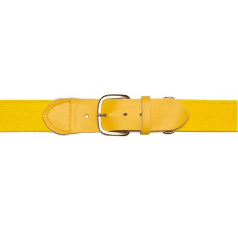 "Gold Adjustable Youth Baseball Uniform Belt - Size 18"" - 32"""