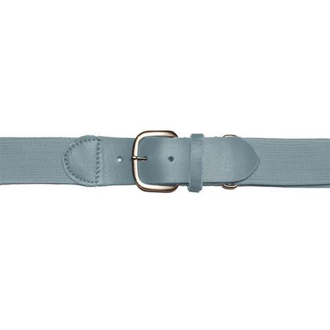 "Gray Adjustable Youth Baseball Uniform Belt - Size 18"" - 32"""