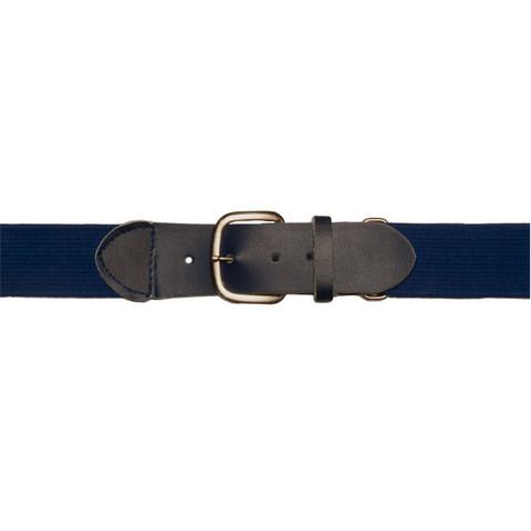 "Navy Adjustable Youth Baseball Uniform Belt - Size 18"" - 32"""