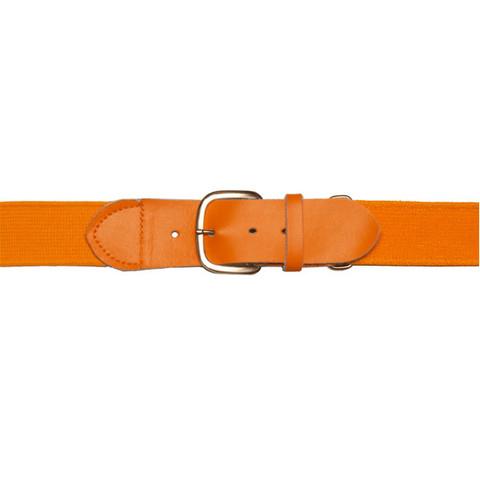 """Orange Adjustable Youth Baseball Uniform Belt - Size 18"""" - 32"""""""