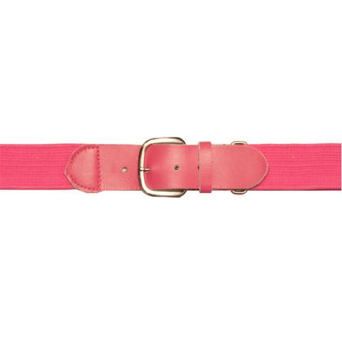 "Pink Adjustable Youth Baseball Uniform Belt - Size 18"" - 32"""