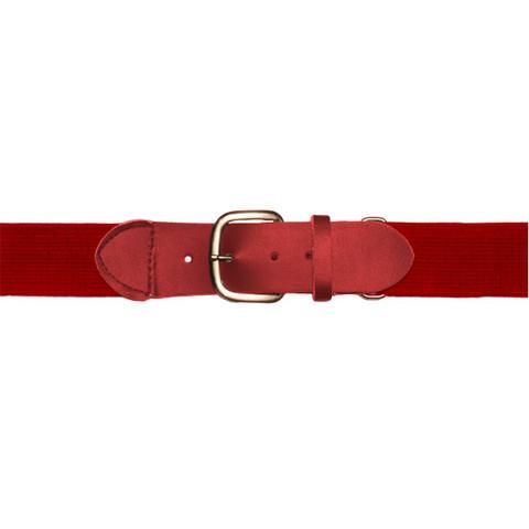 "Red Adjustable Youth Baseball Uniform Belt - Size 18"" - 32"""