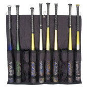 Deluxe Baseball Hanging Team Bat Bag Fence Mount