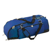 Champion Sports Ultra Deluxe Nylone Baseball Player Bag - Royal Blue