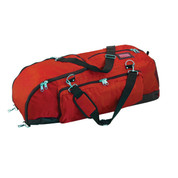 Champion Sports Ultra Deluxe Nylone Baseball Player Bag - Red