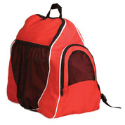 Red 600D Polyester Deluxe All Purpose Backpack