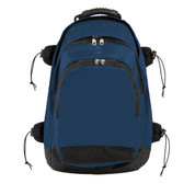 Deluxe Athletes All Purpose Backpack - Navy Blue