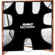 Lacrosse Skills Practice Goal Target with Shooting Zones