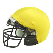 Gold Nylon Stretch Football Helmet Cover