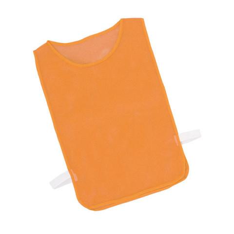 Orange Adult Mesh Pinnie Vest Set of 12