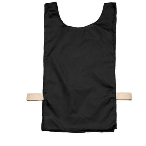 Black Heavyweight Nylon Youth Pinnie Vest Set of 12