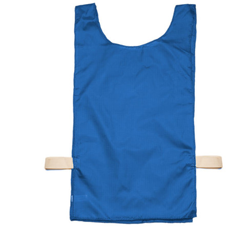 Royal Blue Heavyweight Nylon Youth Pinnie Vest Set of 12