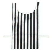 Heavyweight Nylon Black and White Striped Referee Pinnie