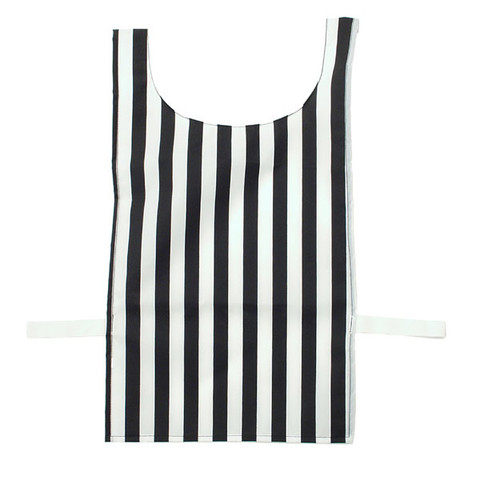 Heavyweight Nylon Black and White Striped Referee Pinnie