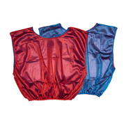 Reversible Nylon Micro Mesh Scrimmage Pinnie Vest Blue/Red