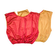 Reversible Nylon Micro Mesh Scrimmage Pinnie Vest Yellow/Red