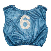 Practice Youth Numbered Scrimmage Vest - Royal Blue