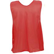 Youth Nylon Micro Mesh Practice Vest - Red