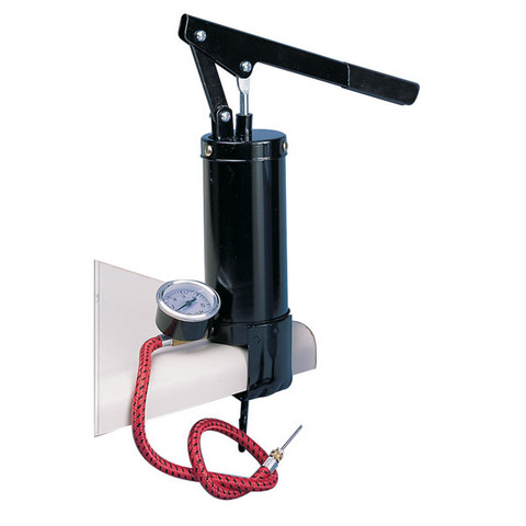 Table Mounted Model Ball Hand Pump with Gauge