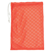 "Orange Drawstring Quick Dry Mesh Equipment Bag -12"" x 18"""
