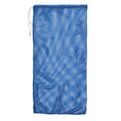 "Royal Blue Drawstring Quick Dry Mesh Equipment Bag - 24"" x 48"""