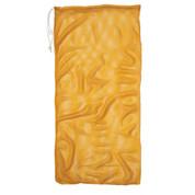"""Gold Drawstring Quick Dry Mesh Equipment Bag - 24"""" x 48"""""""