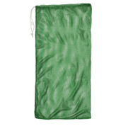 "Green Drawstring Quick Dry Mesh Equipment Bag - 24"" x 48"""