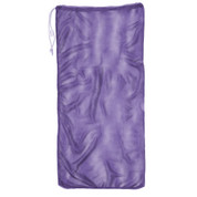 "Purple Drawstring Quick Dry Mesh Equipment Bag - 24"" x 48"""