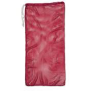 "Red Drawstring Quick Dry Mesh Equipment Bag - 24"" x 48"""