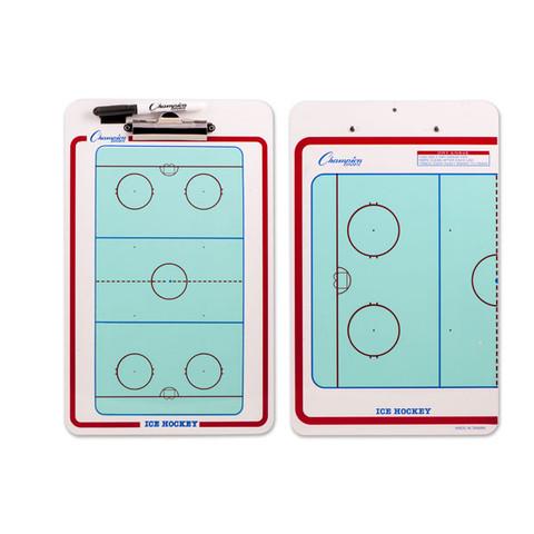 Ice Hockey Clipboard Dry Erase Coaches Board