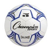 Blue/White Champion Sports Challenger Series Size 4 Soccer Ball