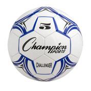 Blue/White Champion Sports Challenger Series Size 5 Soccer Ball