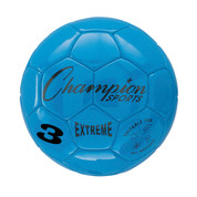 Blue Extreme Series Size 3 Soccer Ball with Soft Touch Composite Leather